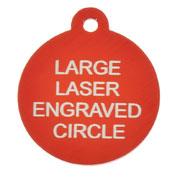 Laser Engraved Pet I.D Tags