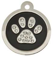 Sparkling Crystal Dog I.D Tags
