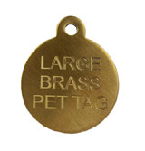Brass I.D Tags