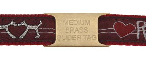 Brass Slider On Collar