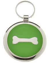 Small Elegance Green Bone Circle