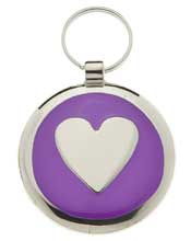 Small Purple Elegance Tag
