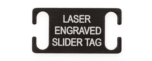 Laser Engraved Slide on Dog Tag