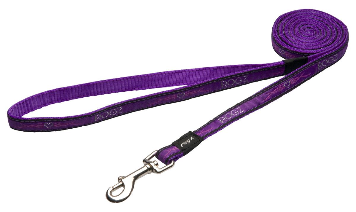 Fancy Dress Lead - Purple Chrome