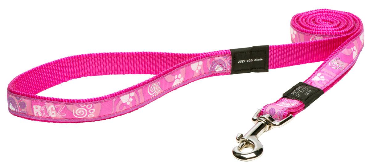 Fancy Dress Lead - Pink Paws
