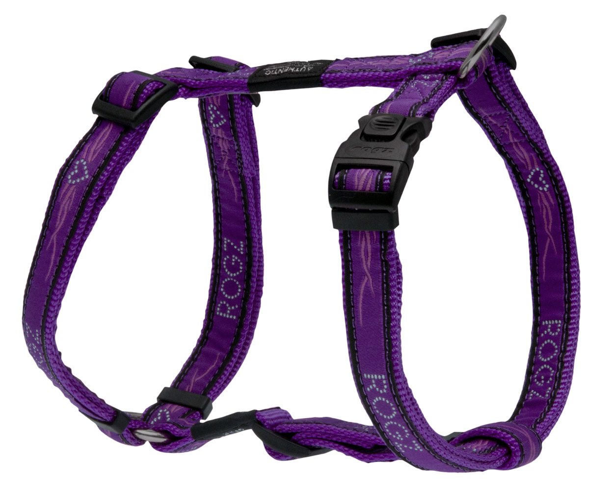 Fancy Dress Harness - Purple Chrome