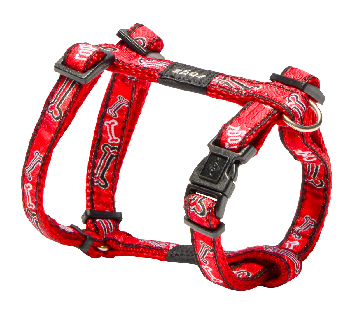 Fancy Dress Harness - Red Bones