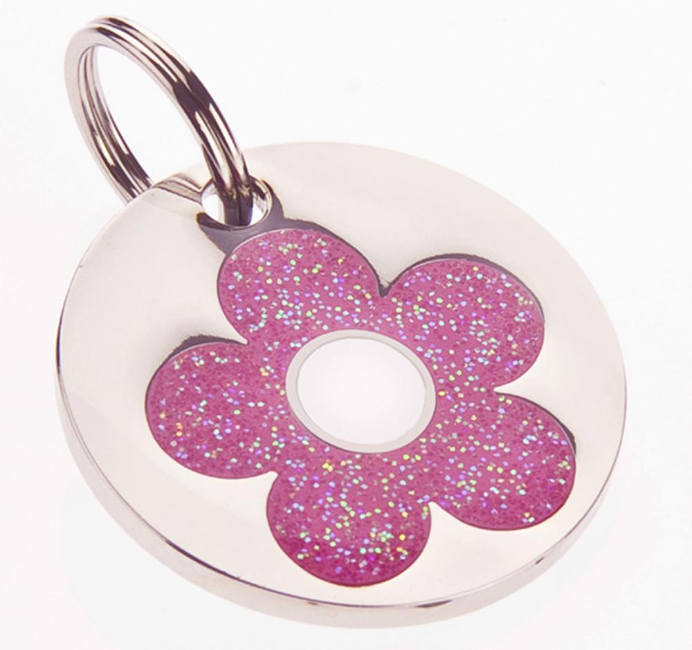 Glittery Pink Daisy