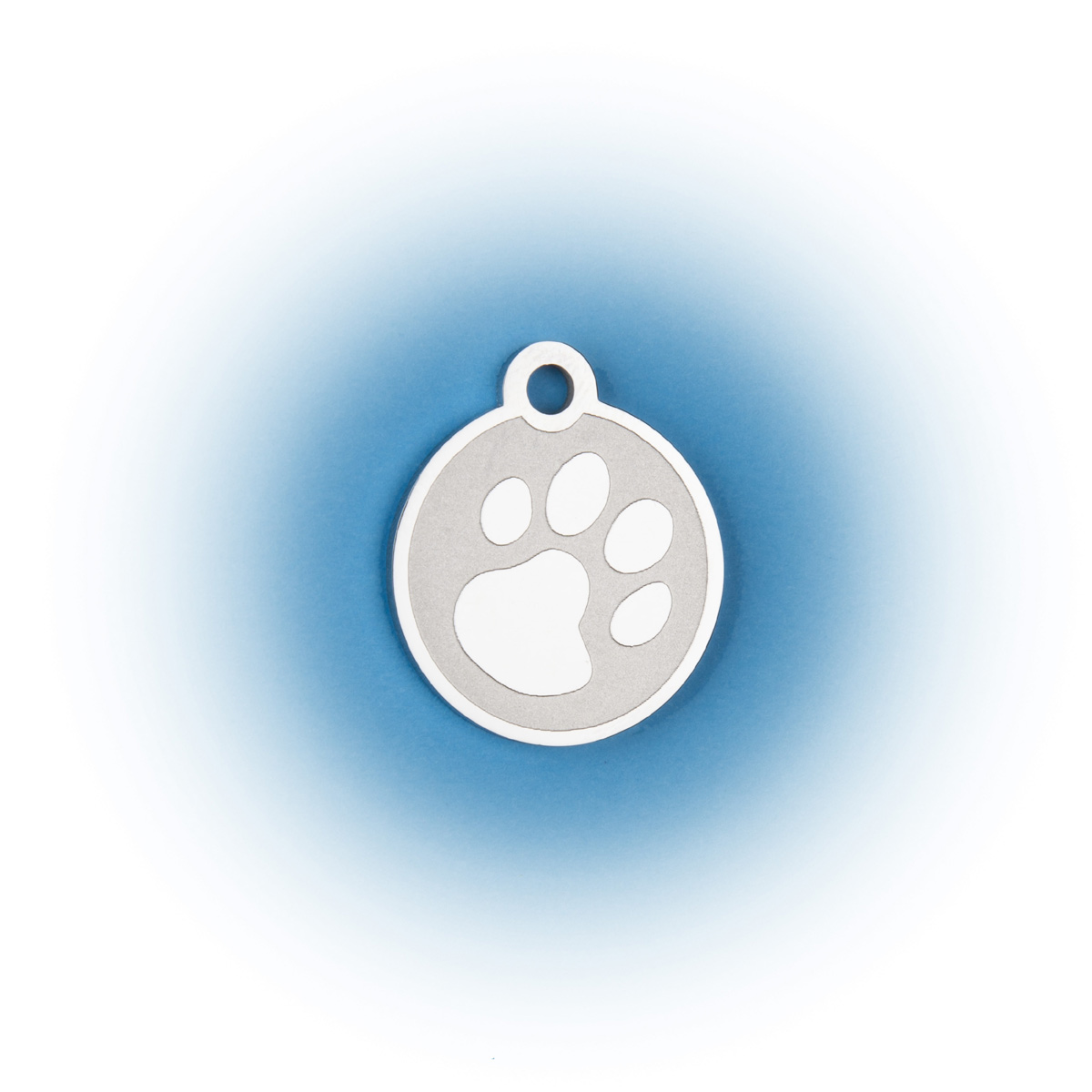 Premium Stainless Steel Paw Print