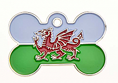 Large Wales Bone Tag