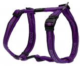 Fancy Dress Harness - Purple Chrome